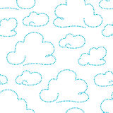 Cloudy pattern Royalty Free Stock Photo