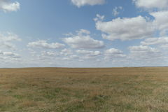 Cloudy Prairie Royalty Free Stock Images
