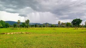 Cloudy and Rainy Royalty Free Stock Images