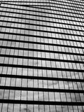 Cloudy reflection on building. Cloudy reflection on a high rise glass building Stock Photography