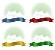 Cloudy Ribbon Stock Image