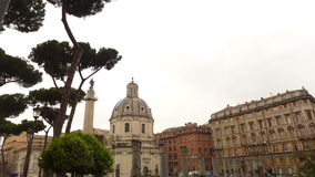 Cloudy Rome Stock Photography