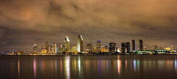 Cloudy San Diego Royalty Free Stock Photography
