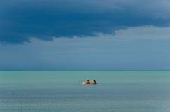 Cloudy Sea Royalty Free Stock Photos