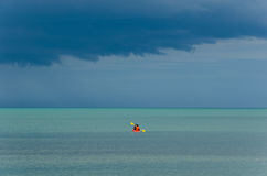 Cloudy Sea Royalty Free Stock Images