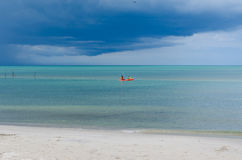 Cloudy Sea Stock Photo