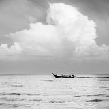 Cloudy seascape Royalty Free Stock Photography