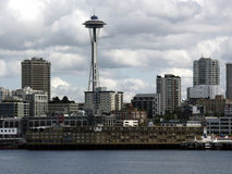 Cloudy Skies. Seattle skyline, cloudy as usual Stock Images