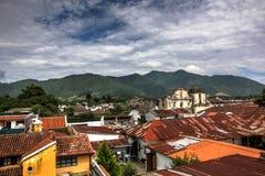 Cloudy Sky. Cloudy Skies above Antigua Guatemala Stock Image