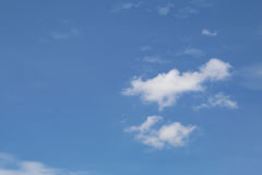 Cloudy skies during the day Stock Photography