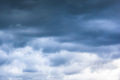 Cloudy Skies. Day with rainy cloudy skies Royalty Free Stock Photography