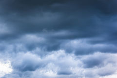 Cloudy Skies. Day with rainy cloudy skies Stock Images