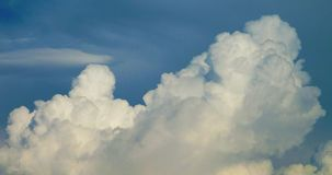 Cloudy skies. Image of a cloudy skies Royalty Free Stock Photography