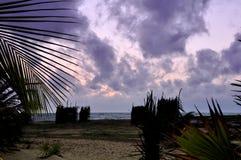 Cloudy skies on Kalpitiya peninsula Stock Photography