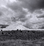 Cloudy Skies Monument Valley Stock Photography