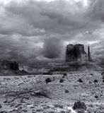 Cloudy Skies Monument Valley Royalty Free Stock Photo