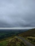 Cloudy skies over the Dales Stock Image