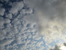 Cloudy Skies 4 Royalty Free Stock Photography