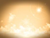 Cloudy skies, sunrise Stock Image