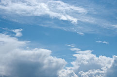 The cloudy sky Stock Images
