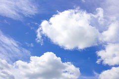 Cloudy sky. More dark blue cloudy sky Royalty Free Stock Images