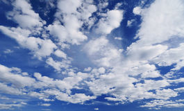 Cloudy sky. Royalty Free Stock Images