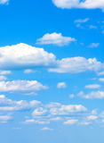 Cloudy sky. It's summer time Royalty Free Stock Images