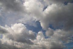Cloudy sky. In a daylight Stock Photos