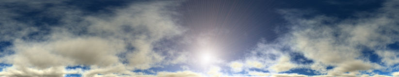 Cloudy Sky. Stock Images