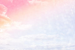 Cloudy sky abstract background Royalty Free Stock Images