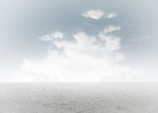 Cloudy sky background Stock Photos