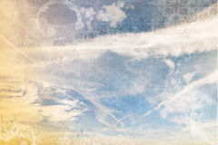 Cloudy sky background, abstract. Royalty Free Stock Image