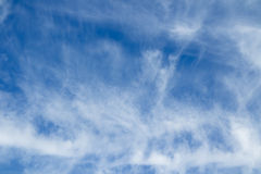 Cloudy sky background. Royalty Free Stock Photo