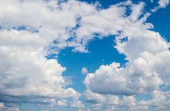 Cloudy sky background Royalty Free Stock Photography
