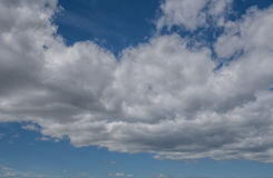 Cloudy sky background. Background of clouds in the sky stock image