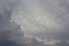 Cloudy sky. Background of cloudy sky before rain Stock Photography