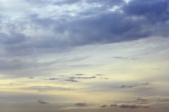 Cloudy sky background. Royalty Free Stock Image