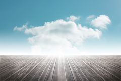 Cloudy sky background Royalty Free Stock Image
