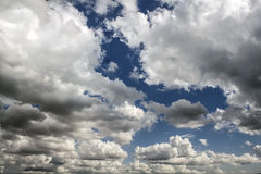 Cloudy Sky. Beautiful cloudy sky can be used as background Stock Photography