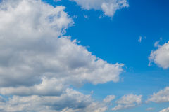 Cloudy Sky. Beautiful cloudy sky can be used as background Royalty Free Stock Photo