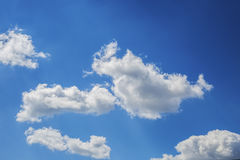 Cloudy Sky. Beautiful cloudy sky can be used as background Royalty Free Stock Photos