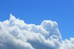 Cumulonimbus in the sky Royalty Free Stock Photos