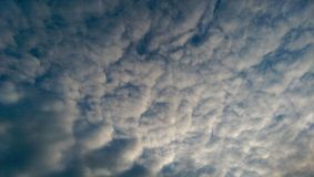 Cloudy sky. Blue cloudy sky royalty free stock images