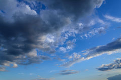 Cloudy sky. Royalty Free Stock Photography