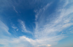 Cloudy sky. Royalty Free Stock Image