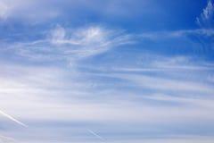 Cloudy sky. Royalty Free Stock Photo