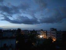 Cloudy sky Stock Image