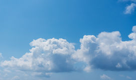Cloudy sky. Stock Photography