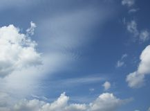 Cloudy Sky Frame Stock Image