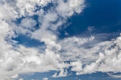 Cloudy sky Stock Photography